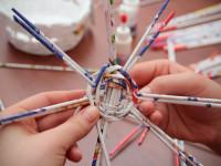 Плетение из газетных трубочек для начинающих: фото и видео обзор с описанием