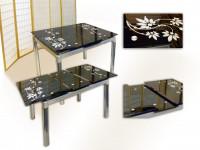 Как выбрать стеклянный стол для кухни?