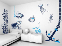 Рисунки на стенах — как сделать?