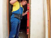 Самостоятельная установка межкомнатной двери