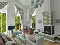 Шторы в интерьере квартиры: идеи и варианты дизайна