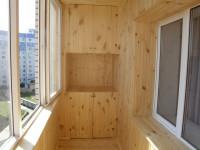 Как обшить балкон вагонкой или блок-хаусом