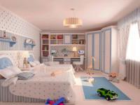 Основные принципы при оформлении интерьера детской комнаты