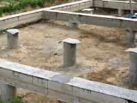 О технологии строительства столбчатого фундамента