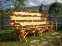 Скамейки для дачи: виды и изготовление своими руками