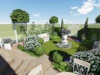 Туя в ландшафтном дизайне: варианты использования и сочетания с другими растениями