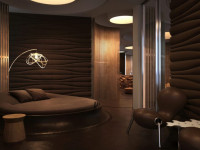 Спальня в шоколадных тонах: 15 вариантов оформления уютного уголка