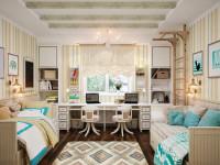 30 идей дизайна комнаты для двух детей: никому не будет обидно