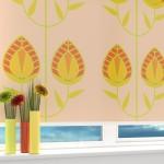 Идея дизайна штор для кухни 46