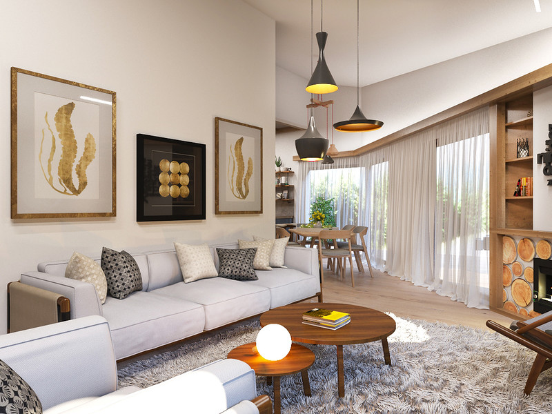Идея дизайна квартиры 2018