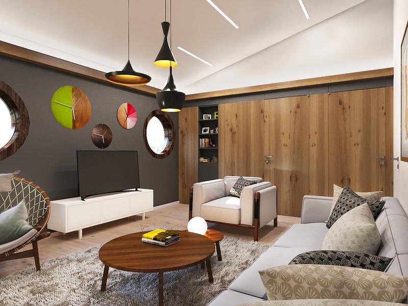 Идея дизайна квартиры 1