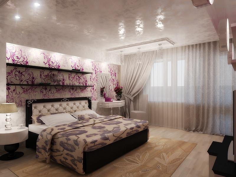 Проект дизайна спальни