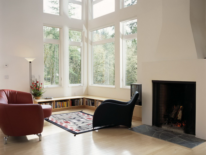 Eimar Boesjes and Anita Van Asperdt designed this home in Oregon.