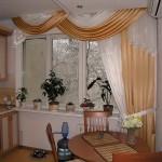 Дизайн штор для кухни 6