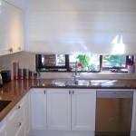 Идея дизайна штор для кухни 71