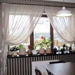 Варианты дизайна штор для кухни 4