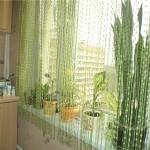 Дизайн штор для кухни 61