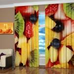 Дизайн штор для кухни 28