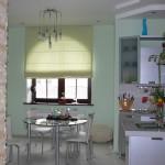 Идея дизайна штор для кухни 3