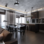 Дизайн квартиры студии 2017