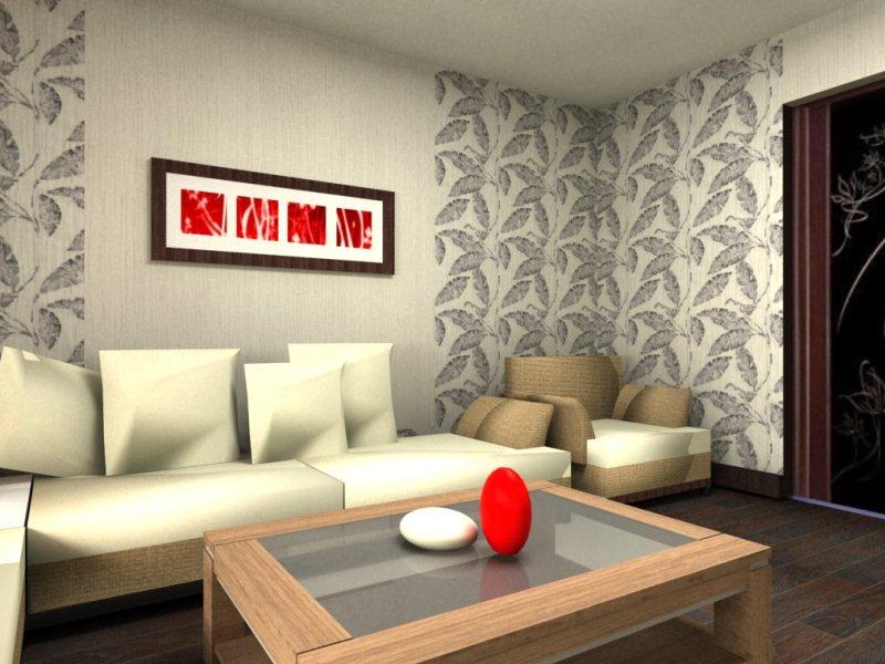 Идея дизайн гостиной 1
