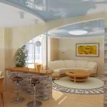 Дизайн кухни-гостиной 1