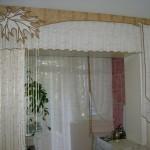 Дизайн штор для кухни 45