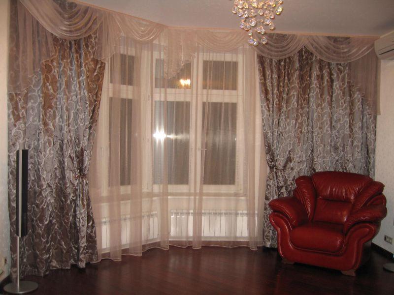 Картинки тюль и штор для гостиной фото