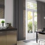 Идея дизайна штор для кухни 29