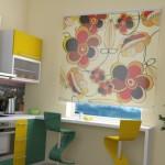 Дизайн штор для кухни 48