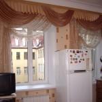 Дизайн штор для кухни 34