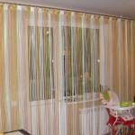 Дизайн штор для кухни 46
