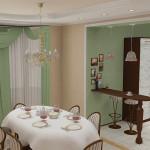 Дизайн штор для кухни 22
