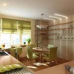 Дизайн штор для кухни 23