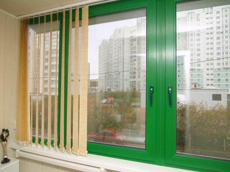 Дизайнерское пластиковое окно