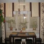 Идея дизайна штор для кухни 101