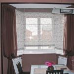 Дизайн штор для кухни 83