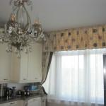 Дизайн штор для кухни 84