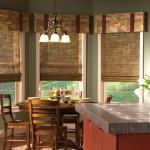 Идея дизайна штор для кухни 108