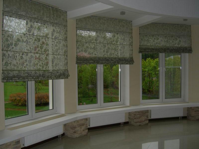 Римские шторы (150 фото)