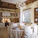 Дизайн штор для кухни 8