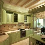 Дизайн штор для кухни 9