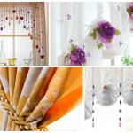 Дизайн штор для кухни 16
