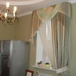 Дизайн штор для кухни 12