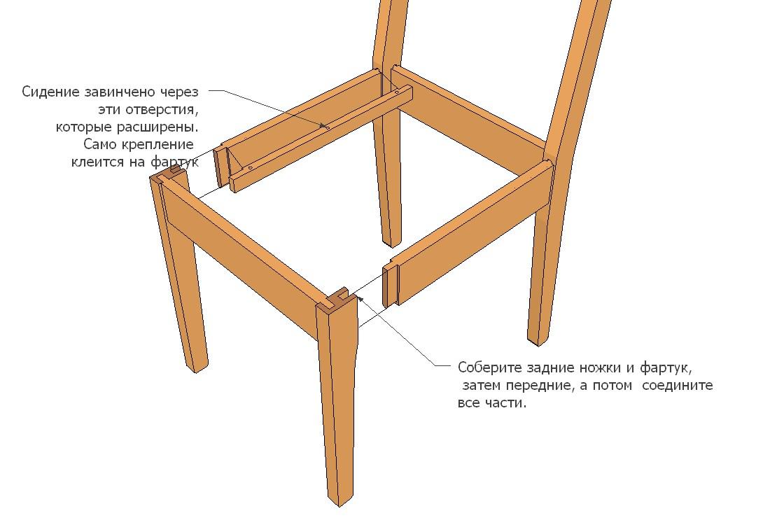 Сделать мягкий стул своими руками фото 575