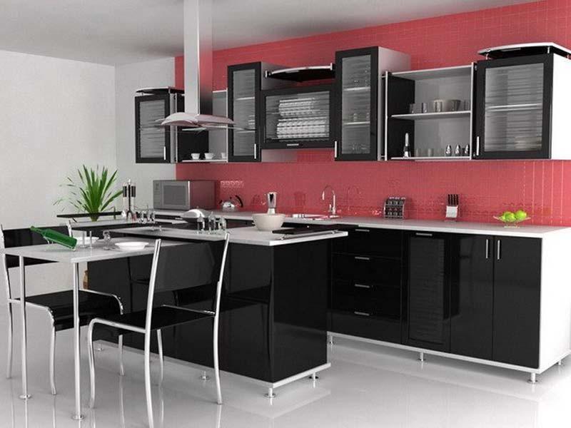 реконструкция кухни в современном стиле
