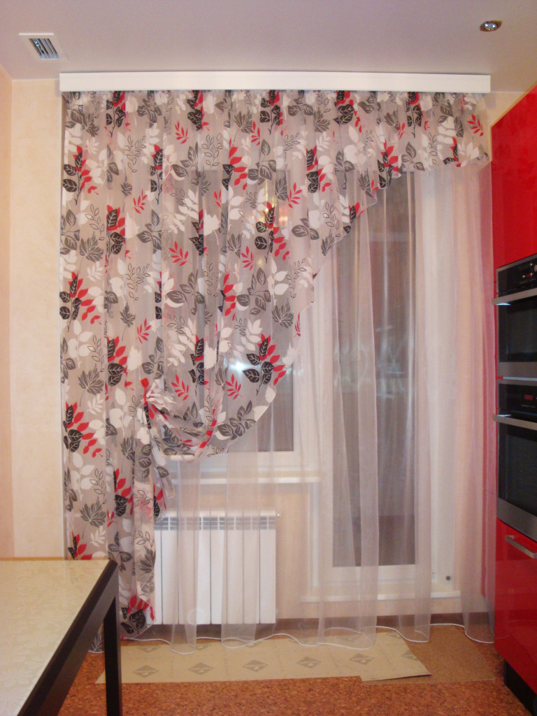 Идея дизайна окна на кухне