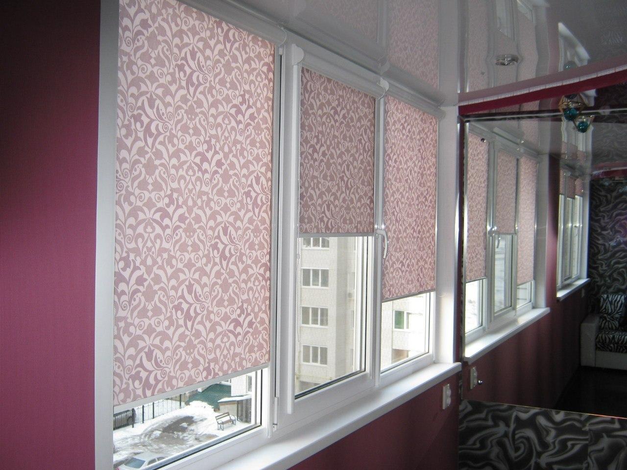 Тканевые шторы
