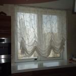 Идея дизайна штор для кухни 81