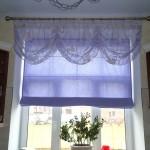 Дизайн штор для кухни 66